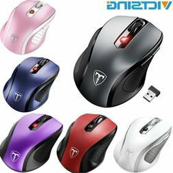 2.4g Wireless Maus Tragbare Optische 6 Tasten 1200 DPI Mäus