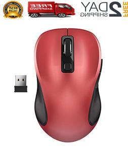 2.4G Wireless Mouse Raton Inalambrico Para Gamer Computadora