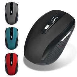 2.4GHz Wireless Gaming Mouse USB Receiver Pro Gamer For PC L