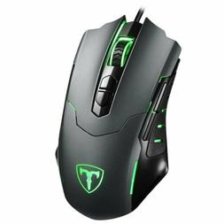 7200dpi led optical wired gaming mouse 7