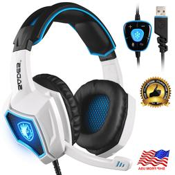 Audifonos GAMER - Gaming Headset 7.1 Surround Stereo USB par