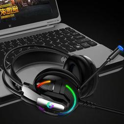 Gaming Headphones Deep Super Bass Headsets Computer Gamer He