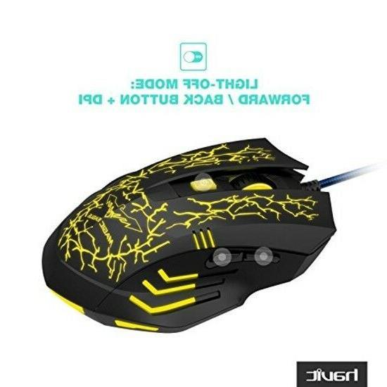 Mouse Mice Led 4 Dpi level 6