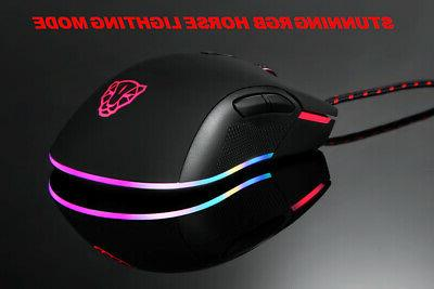 Optical Wired Mouse Laptop Computer
