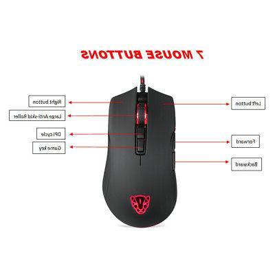 Optical Mouse 7 Button Laptop P3G1
