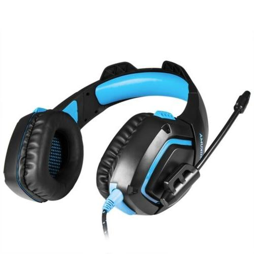 Stereo Headset Xbox One Laptop Gamer