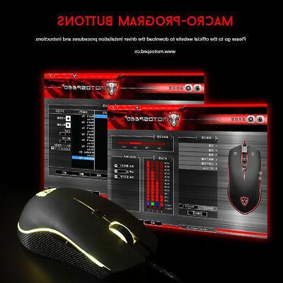 Motospeed V40 DPI Gaming Mouse USB