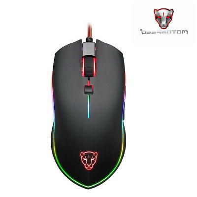 v40 programmable 4000 dpi gaming gamer mouse