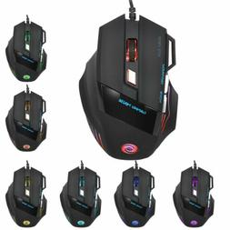 Lot Wired Gaming Mouse Black Ergonomic Computer laptops Mice