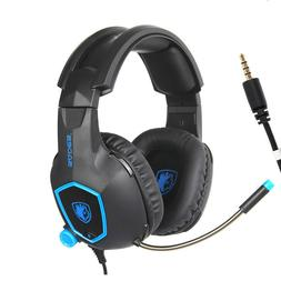 PS4 Gaming Headset PC Gamer Headphones with Mic for New Xbox