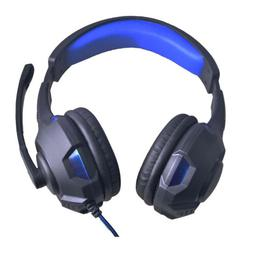 Stereo PC Gaming Headset for Desktop & Laptop Gamer w Mic Ov