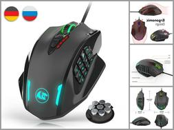 Wired USB Gaming Mouse Computer Laptop Accessories High Prec